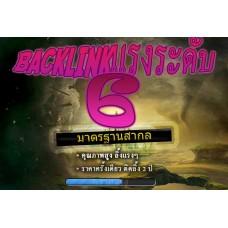 แฮ - ของหมด แพคเกจ Backlink ระดับ 6 - เว็บที่ E610
