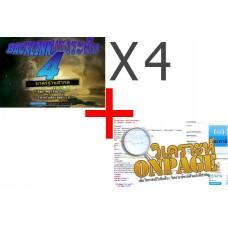 Backlink ระดับ 4 - 4 แพคเกจ (E414-E417) + Onpage
